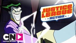 Justice League Action Capturarea Jokerului Cartoon Network