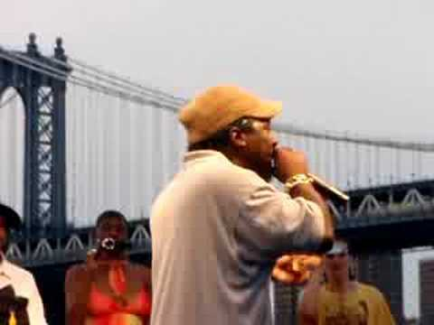 Brother J (X-Clan), Hakim (Channel Live) & KRS-One - Freestyle @ BHF08, NYC