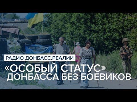 «Особый статус» Донбасса без боевиков | Радио Донбасс Реалии
