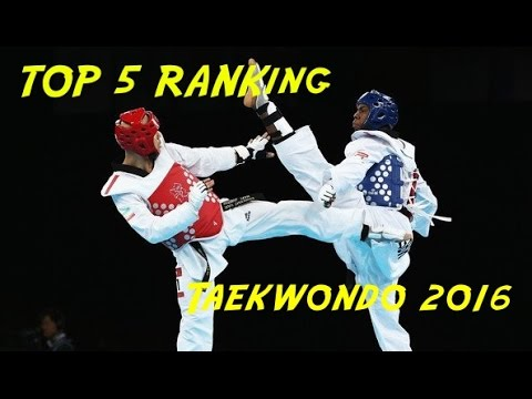 TOP 5 Male -68 World Taekwondo Ranking
