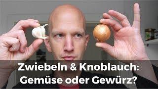 Zwiebeln & Knoblauch: Gemüse oder Gewürz? Beim Gewürzhändler.