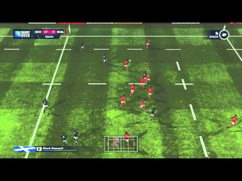 Rugby World Cup 2015 HD Gameplay: Scotland vs Wales