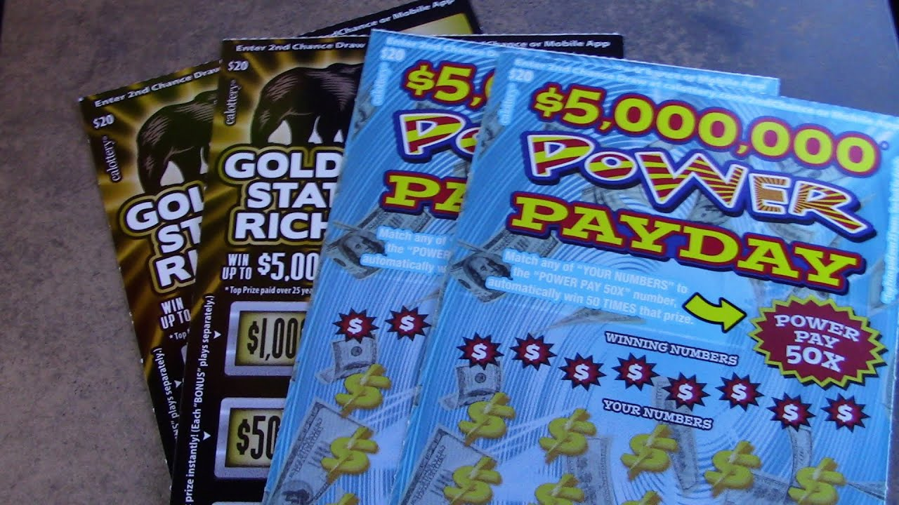 POWER PAYDAY AND GOLDEN STATE RICHES!!!!
