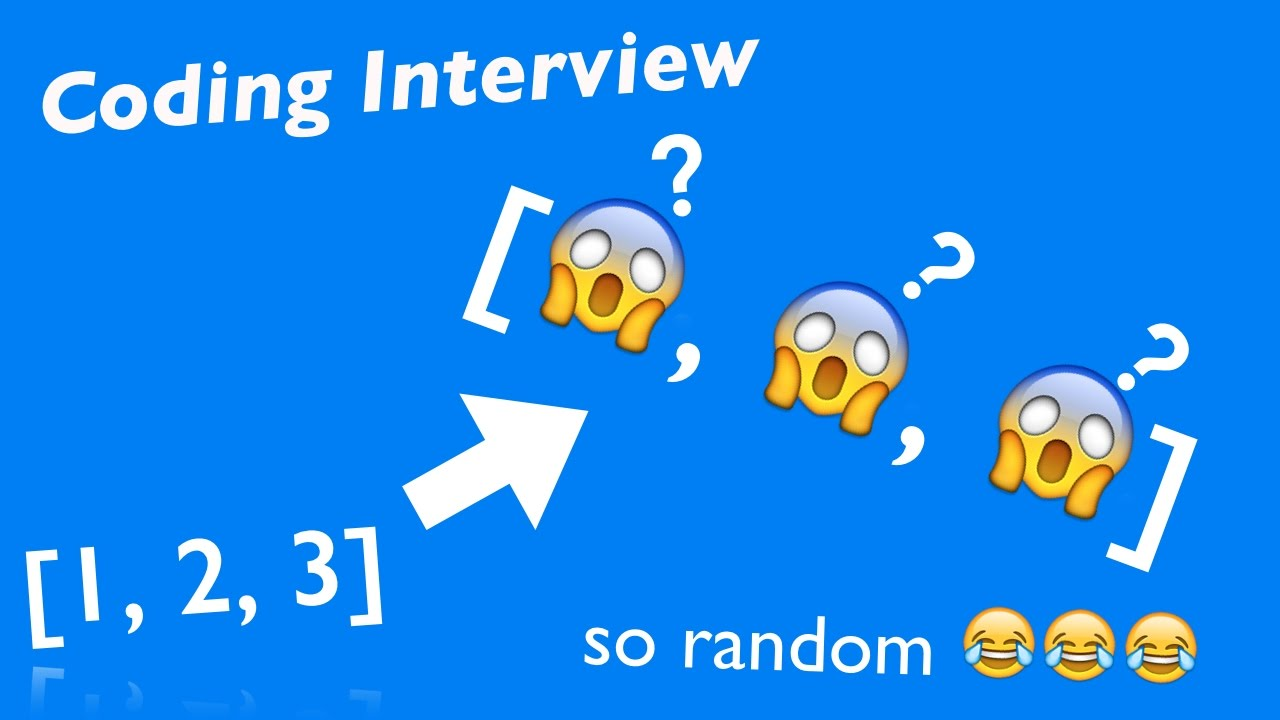 Coding Interview: Can You RANDOMLY Reorder Array in O(N)? - YouTube