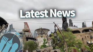 Latest Disney News: Galaxy's Edge Updates, NEW Food and Wine Booths, and SO MANY Snacks