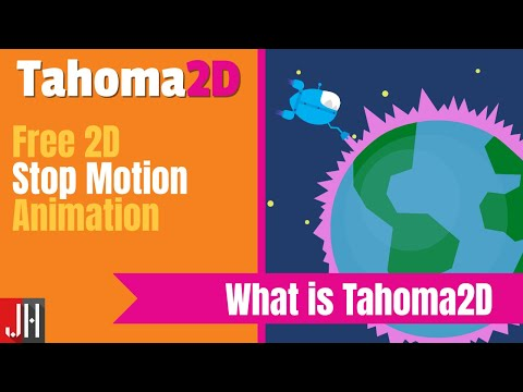 What is Tahoma2D - A Free 2D Animation Software
