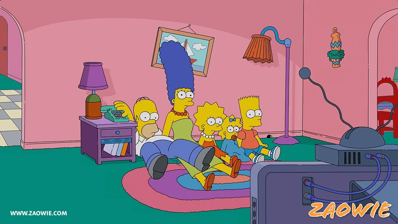 Big Bang Couch Gag Reverse It The Simpsons Big Bang Theory Couch Gag