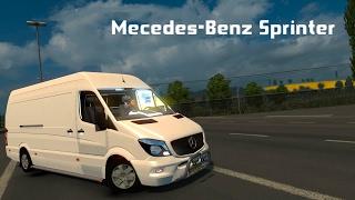 Mercedes-Benz Sprinter - Euro Truck Simulator 2 v1.26 [ETS2]