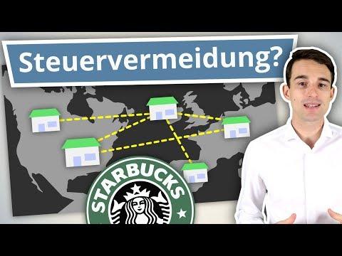 Warum Starbucks so wenig Steuern zahlt