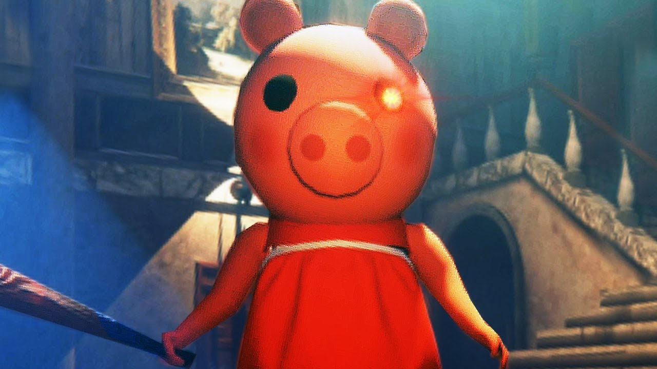 Peppa Pig de Terror - PIGGY Juego COMPLETO y FINAL ( Android Horror Game ) Escape from Pig