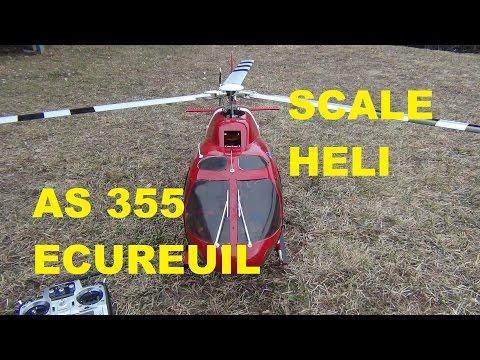 Scale Heli Ecureuil AS 355