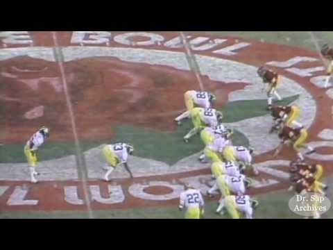 1979 Rose Bowl Rick Leach TD Pass