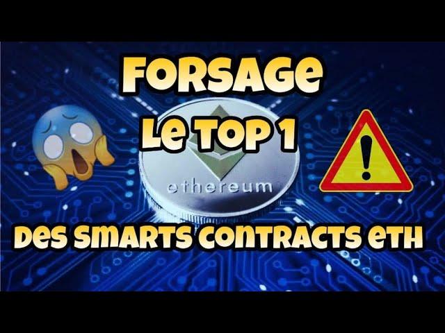 Forsage : le top 1 des smart contract  sur Ethereum