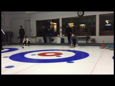 Curling in Montreal at the Royal Montreal Curling Club