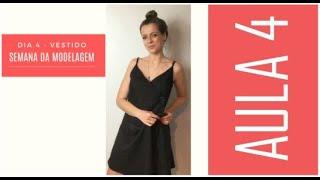 Semana de Modelagem - Aula 4 - VESTIDO TRANSPASSADO