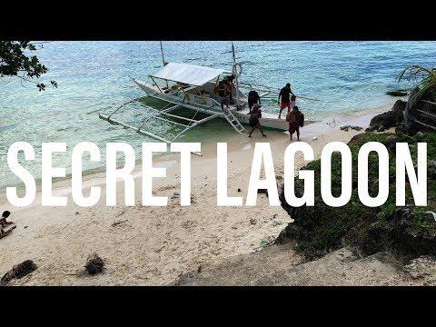 Alona Beach - The Secret Lagoon - Panglao Island, Bohol, Philippines