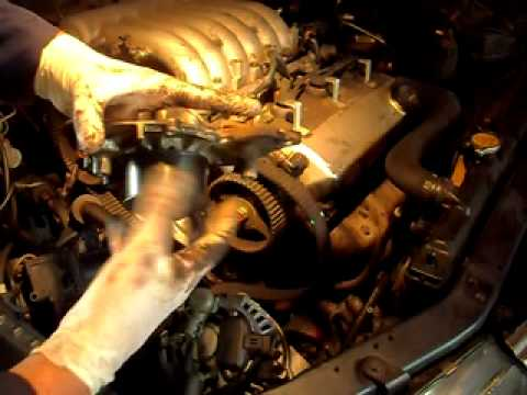Mitsubishi 3 5 V6 Water Pump 3 Youtube