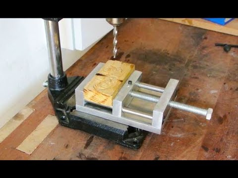 How to make mini Drill Vise