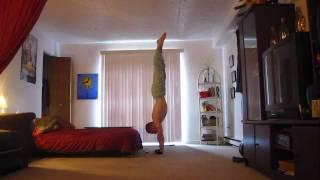 My longest handstand