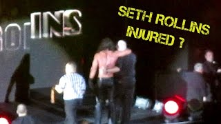 WWE Seth Rollins ACL Injury FOOTAGE at WWE Live Dublin: My Analysis and Breakdown of What Happened
