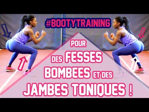 Avoir des FESSES BOMBÉES et des JAMBES TONIQUES┃Belle & Sportive