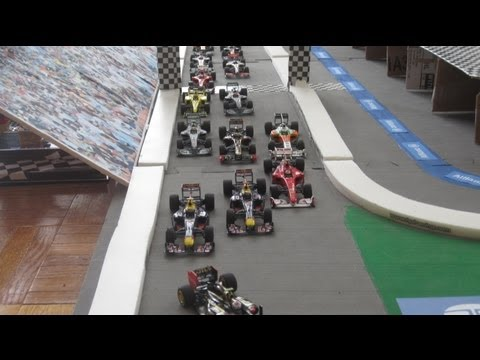 Formula 1 Stop Motion Atlantic Grand Prix 2013