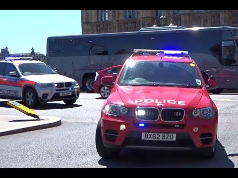 London Metropolitan Police ARVs Responding