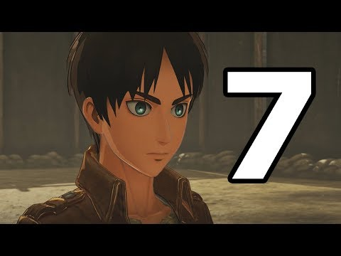 Attack on Titan 2 Walkthrough Part 7 - No Commentary Playthrough (PS4)