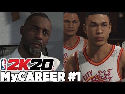 Türkçe NBA 2K20 MyCAREER #1 | NBA'E GİDEN YOL BAŞLIYOR!