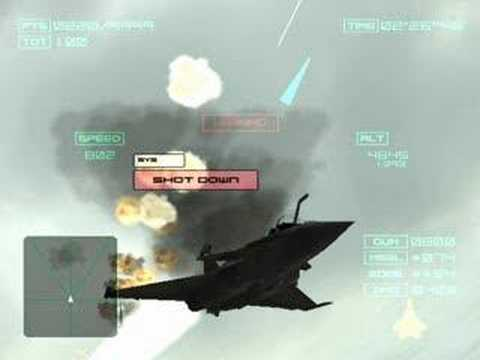 Inminent Threat - Ace Combat 4 Shattered Skies ost