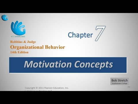 Motivation Concepts   Organizational Behavior (Chapter 7)