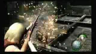 Resident Evil 4 - Ashley using weapons