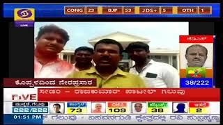Video Conferencing via Zoom App for Karnataka Elections