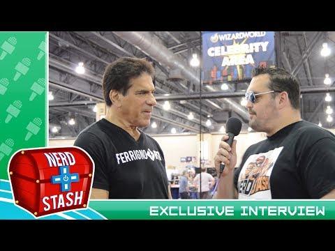 Lou Ferrigno Interview at Wizard World Philadelphia 2017