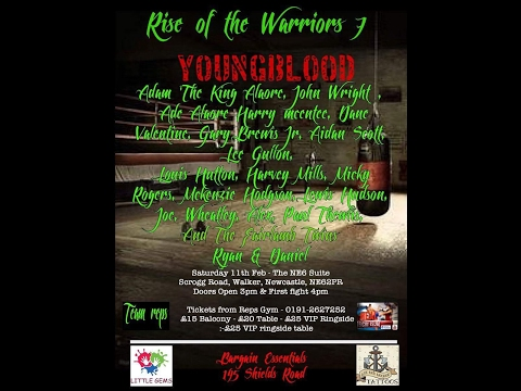 Rise of the Warriors 7   Youngblood   Junior Boxing from Team Reps Boxing