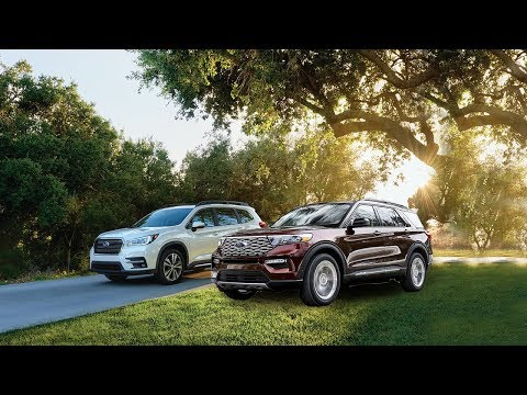 2020 Ford Explorer vs 2019 Subaru Ascent