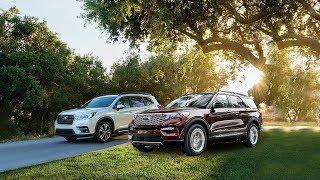 2020 Ford Explorer Vs 2019 Subaru Ascent