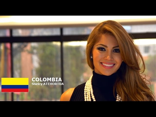 COLOMBIA - Shirley ATEHORTUA - Contestant Introduction: Miss World 2016