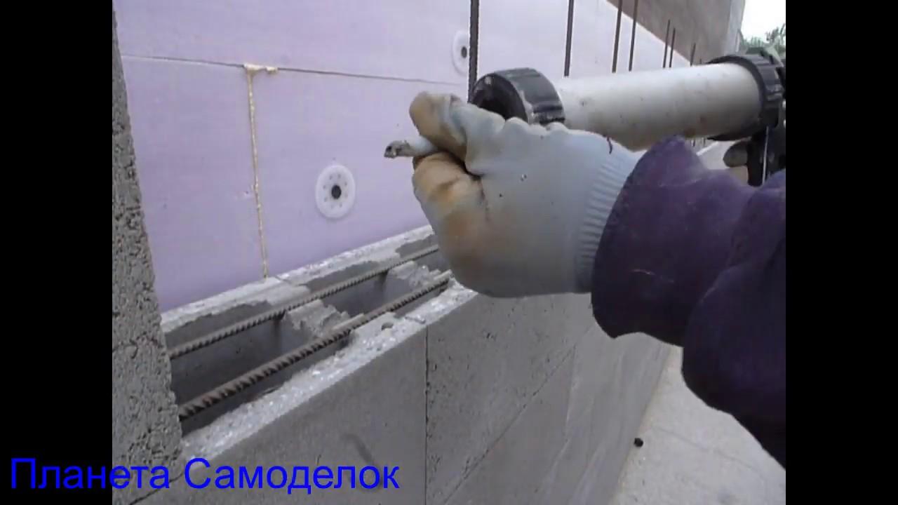 Приспособление для кладки бетонных блоков для бассейна