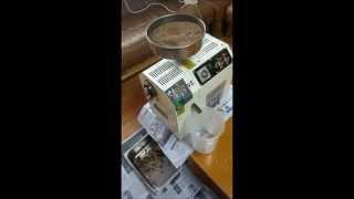 참기름/들기름 착유 영상