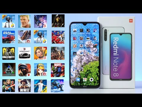 Game Test Xiaomi Redmi Note 8 4GB/64GB In 20 Games Android Fortnite - PUBG - ARK - Call Of Duty🔥
