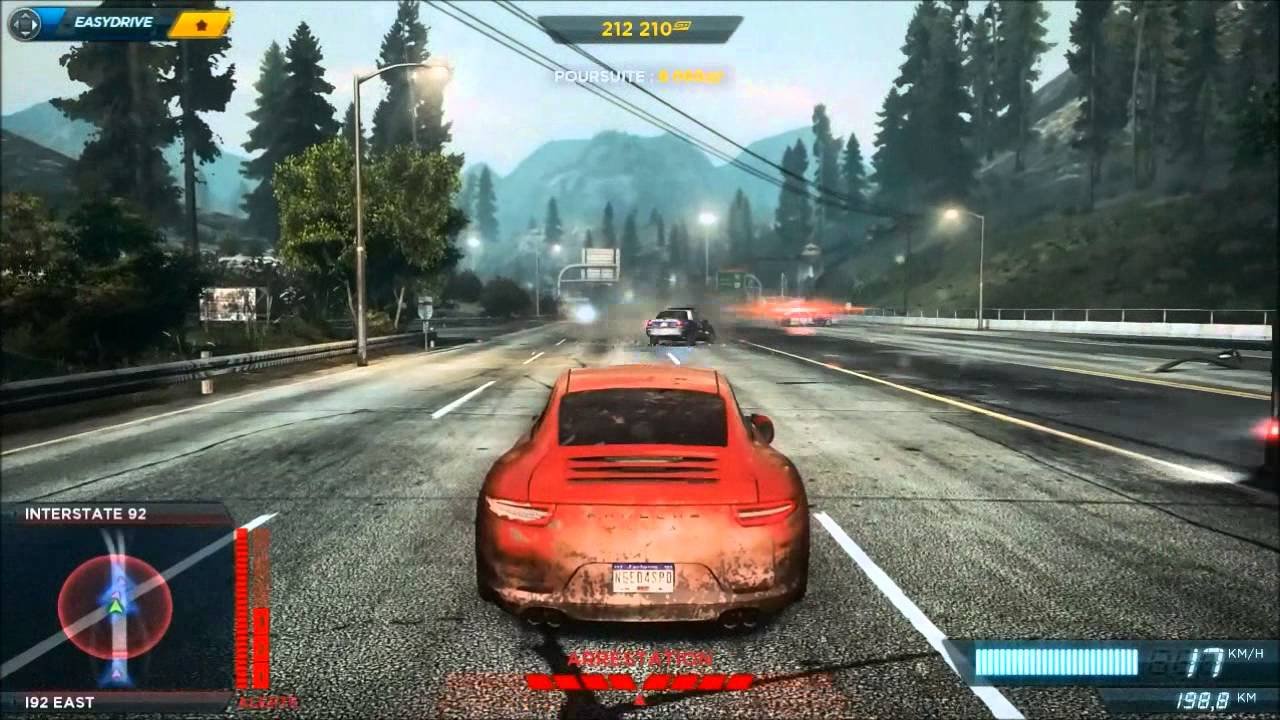 need for speed most wanted course poursuite police pursuit hd fr youtube. Black Bedroom Furniture Sets. Home Design Ideas