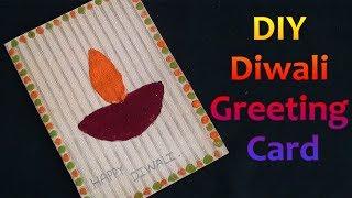 DIY Diwali Greeting Card | How to Make Gift Card Ideas