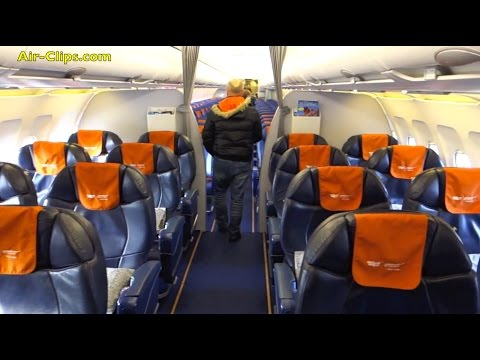 Aeroflot Airbus A320 Business Class From Moscow SVO To Hamburg! [AirClips Full Flight Series]