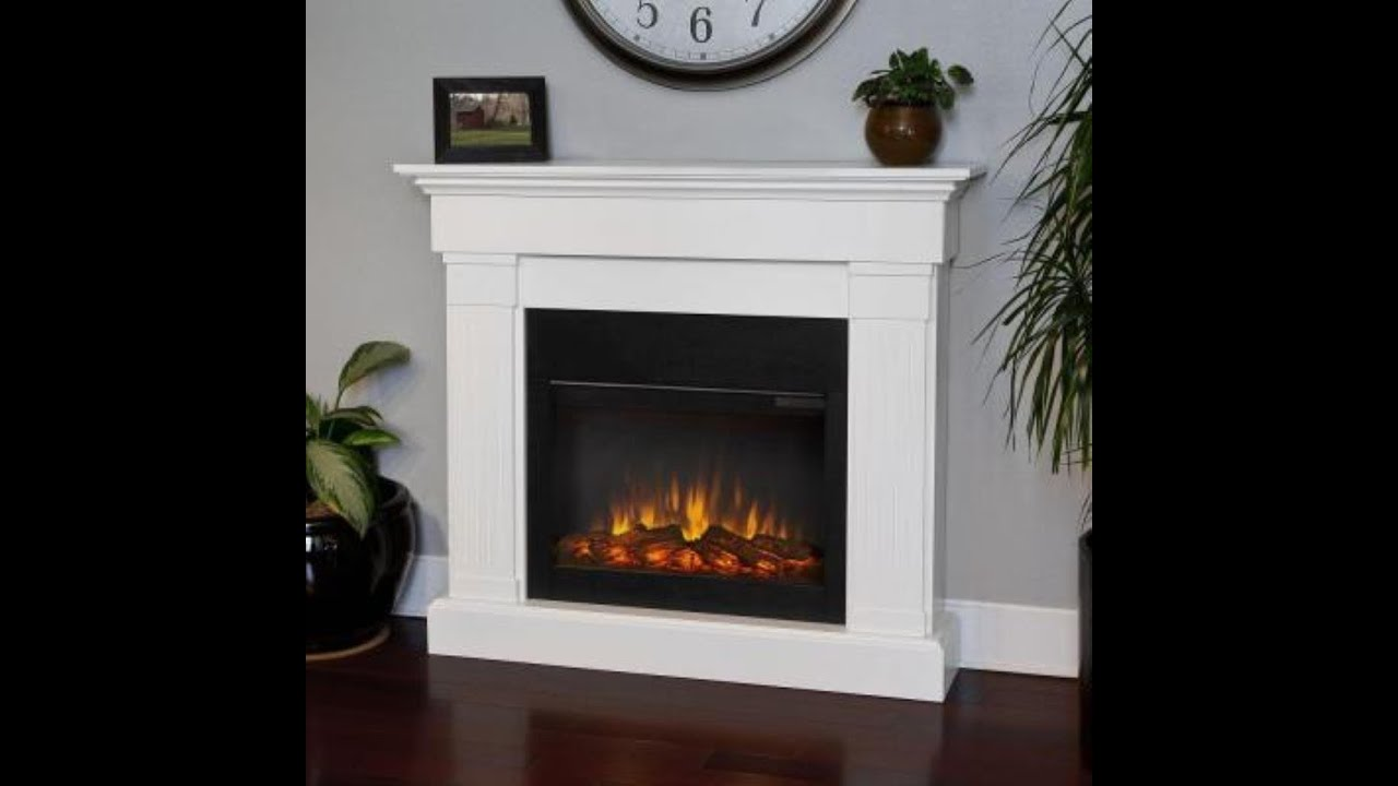 Review Real Flame Crawford Electric Slim Line Fireplace
