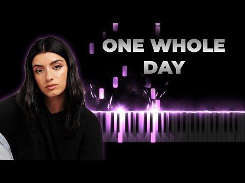 Dixie D'Amelio – One Whole Day Feat. Wiz Khalifa | Piano Cover, Instrumental Karaoke