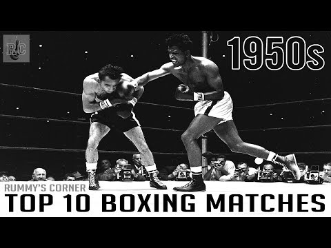 Top 10 Boxing Matches from the 1950s