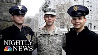 Meet The Three Brothers Who Just Graduated West Point Together | NBC Nightly News