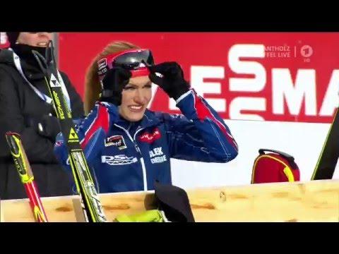 Women Biathlon Team Czech-Republic 2 St Place 4x6 Km Relay Antholz 2016