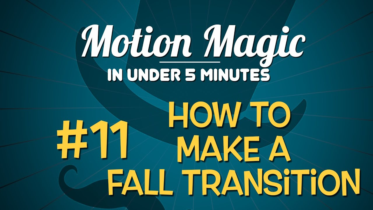 How to Create a Custom Transition in Motion 5 – Ripple Training